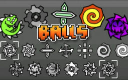 Geometry Dash Ball Icons