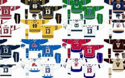 NHL DEFUNCTED TEAM'S JERSEY'S