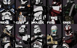 Clone captains and commanders ranked