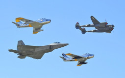 Early Cold War Fighter Jets