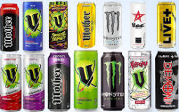 energy drinks in my collection