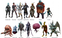 Starfinder Playable Races