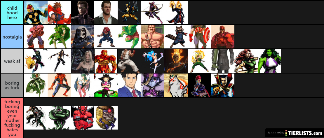 umvc3 best characters ever